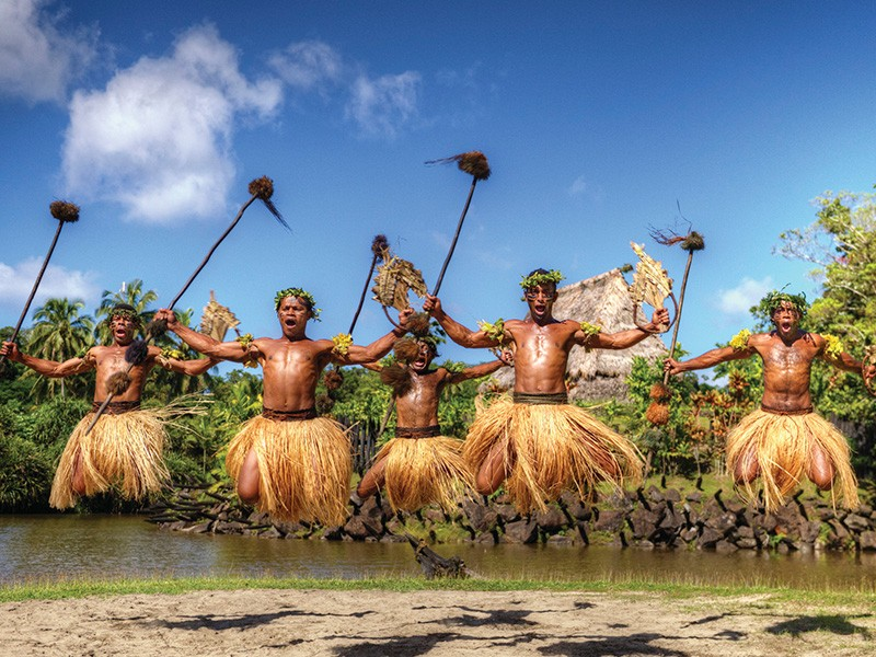 Fijian Warrior Dance | Image via Tourism Fiji | 5 Reasons Why Fiji Is Our Favourite Family Destination | Global Explorer