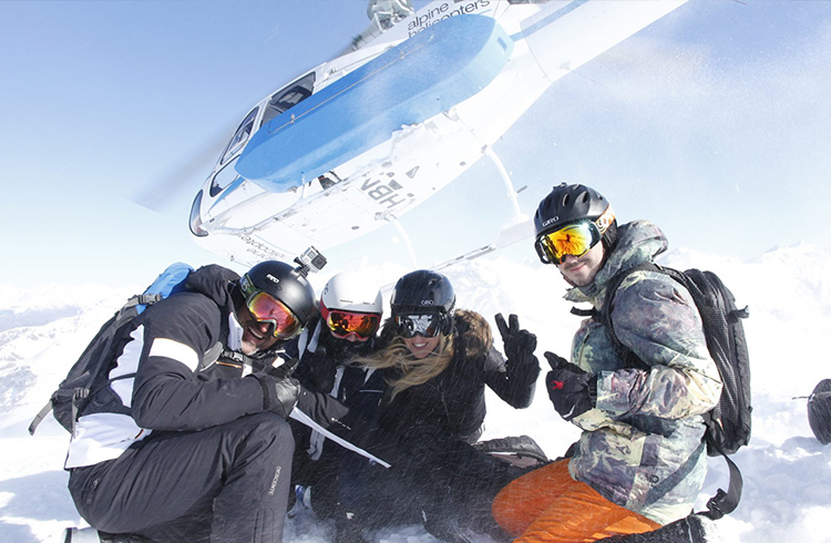 Reasons to Visit Queenstown | 3. Heli Skiing | Global Explorer