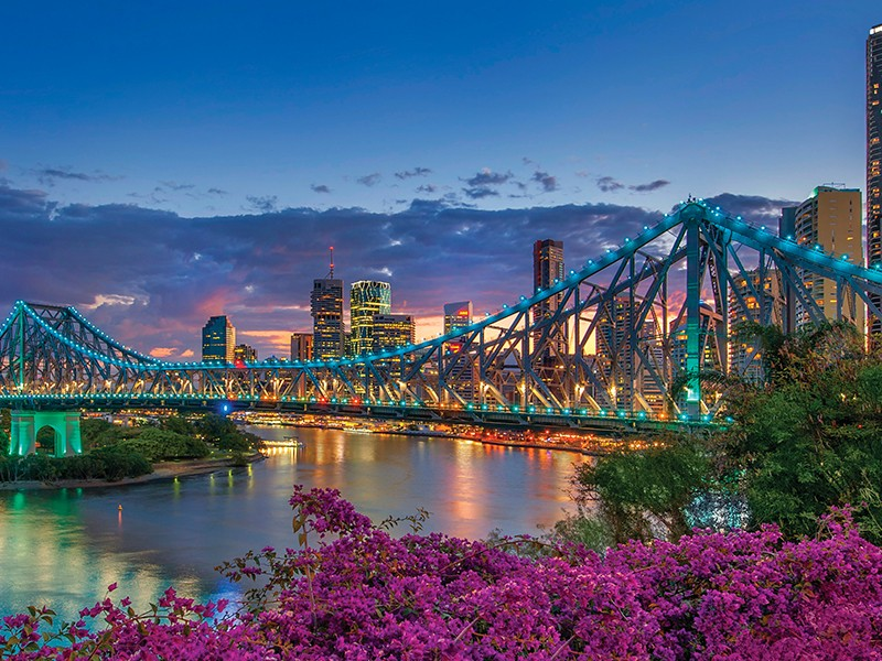Brisbane City in Full Bloom - Discover Queensland