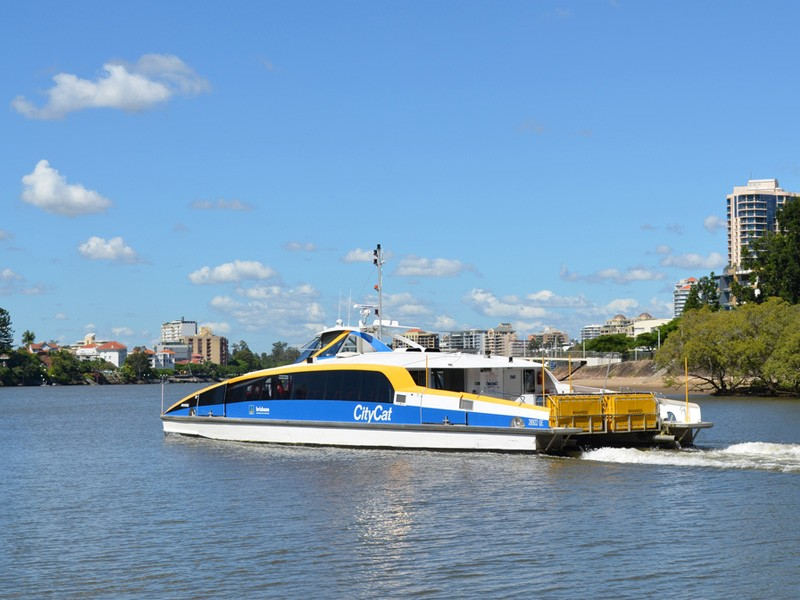 City Cat Ferry - Discover Queensland