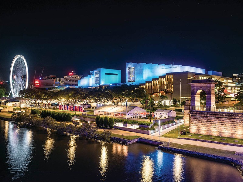 QPAC in Southbank - Hightide Holidays