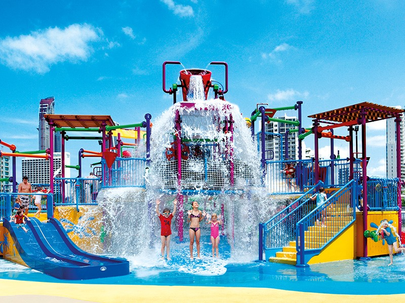 Zone 4 Kidz Waterpark at Paradise Resort perfect for Gold Coast Family Holidays - Discover Queensland