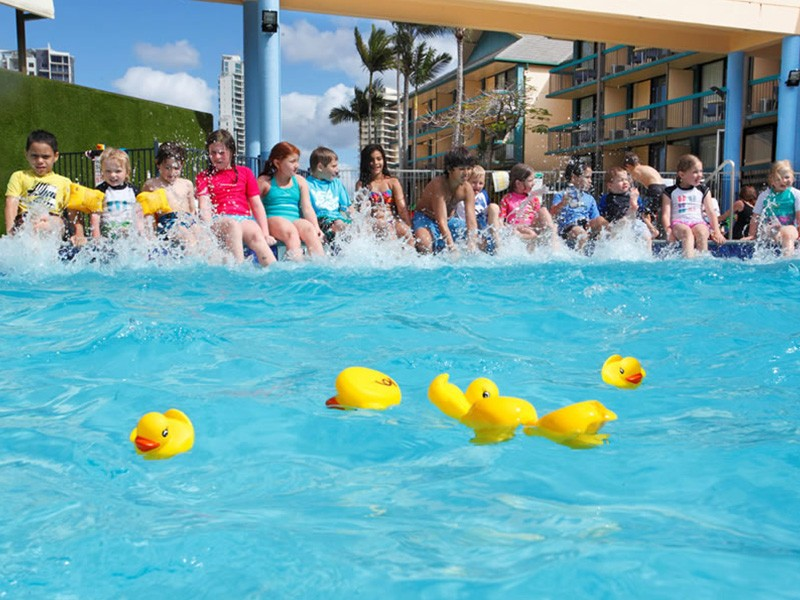 Paradise Resort Duck Races - Kids Activities on the Gold Coast - Discover Queensland