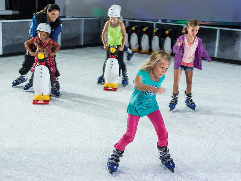 Planet Chill Ice Rink in Paradise Resort - Discover Queensland