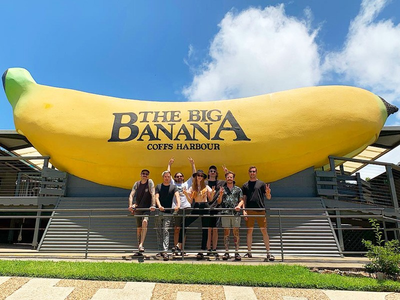 The Big Banana | Image by @verabluemusic via Instagram | How to Have A Family Friendly Holiday at BreakFree Aanuka Beach | Global Explorer