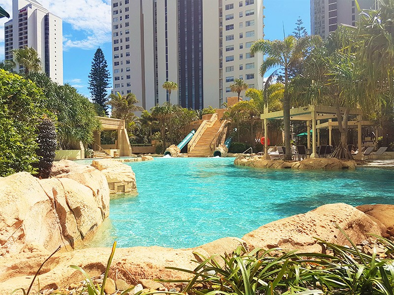 Mantra Sun City Aztec Inspired Pool - Discover Queensland