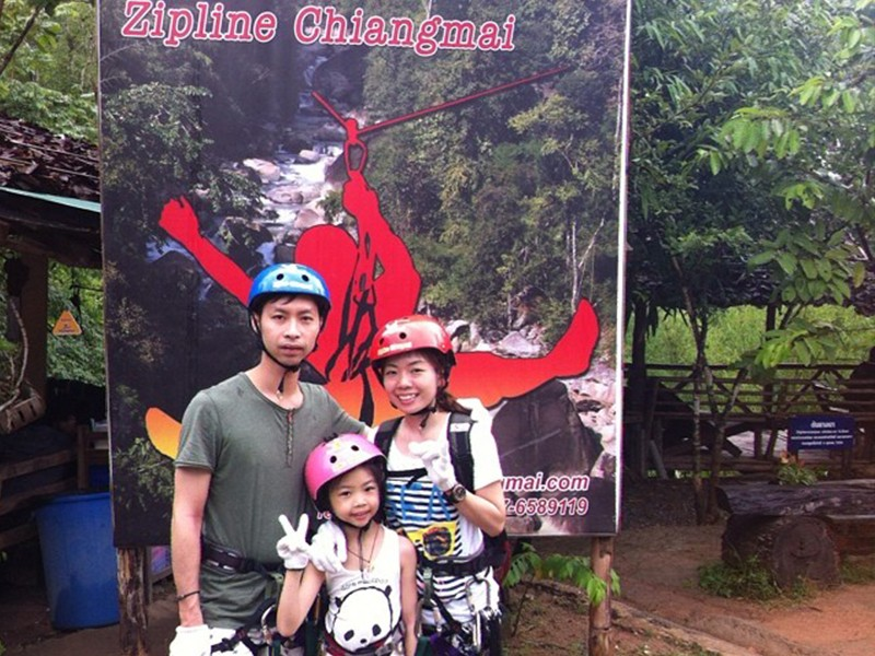 Chiang Mai Zip Lining | Five of the Best Family Destinations in Thailand | Global Explorer