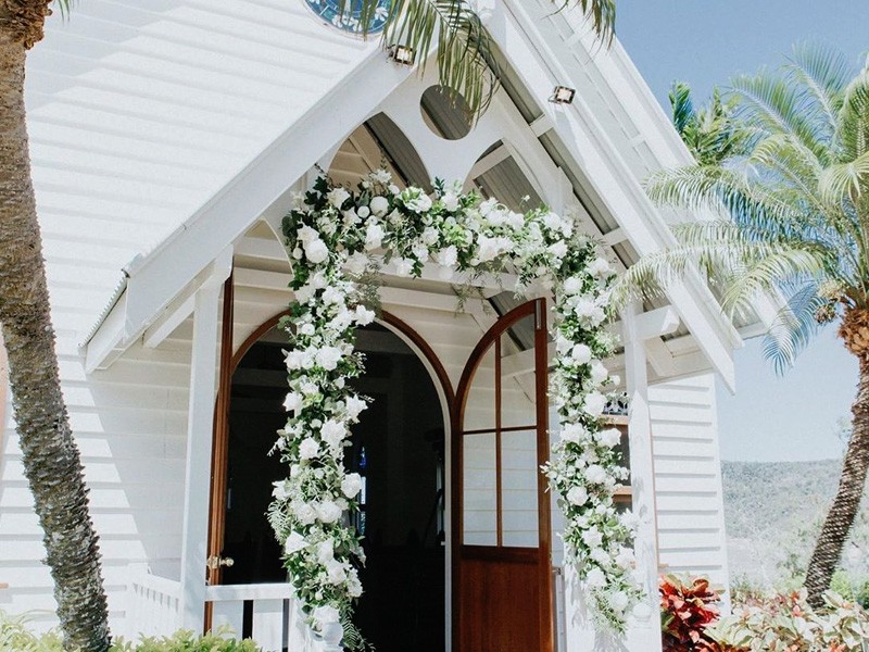 Wedding Chapel, Hamilton Island | Image by @hamiltonisland via Instagram | Top 10 Things to do on Hamilton Island | Global Explorer