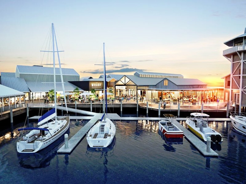 The Wharf Mooloolaba | Top 5 new Things to do on the Sunny Coast | Image via wharfmooloolaba.com.au