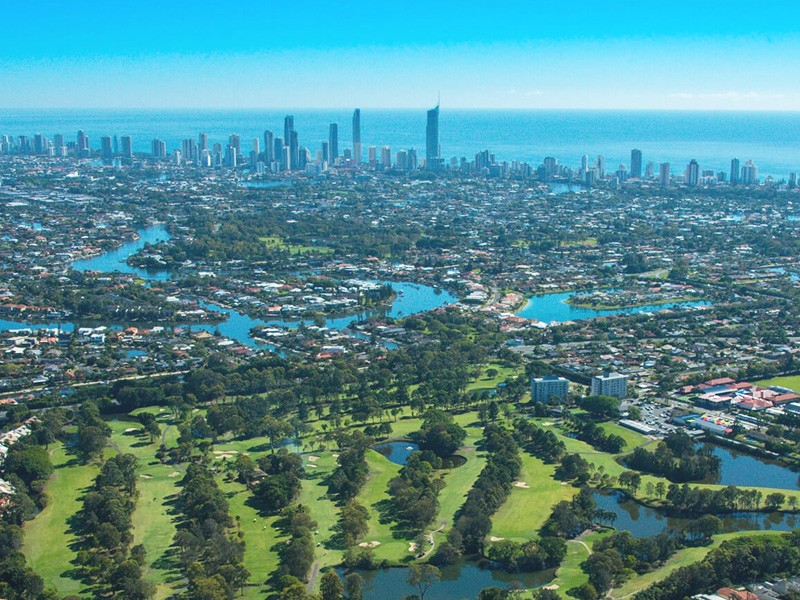 Surfers Paradise Golf Course | Bromance Escapes: A Gold Coast Boys Weekend Itinerary
