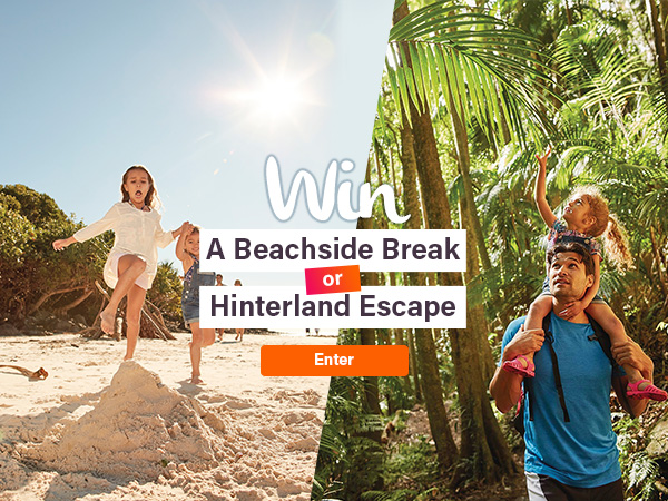 Win a beachside escape or hinterland retreat | Discover Queensland