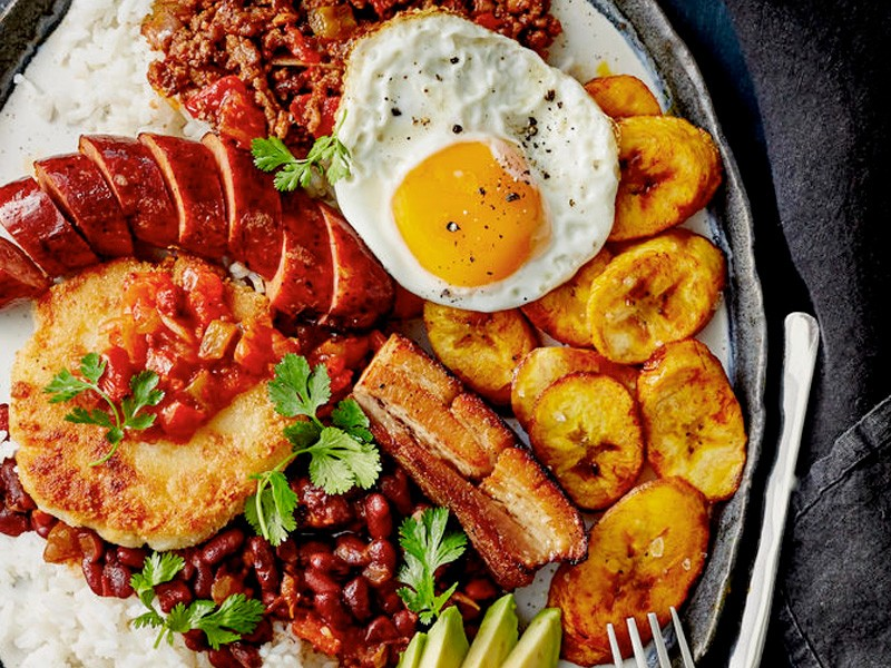 Things you can do instead of travelling | Bandeja Paisa | Hightide Holidays