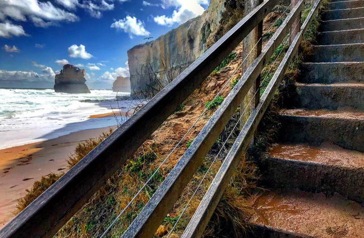 Gibson Steps along the Great Ocean Road in Victoria | Fall in Love with Australia: Our Top 5 Trending Destinations | Hightide Holidays