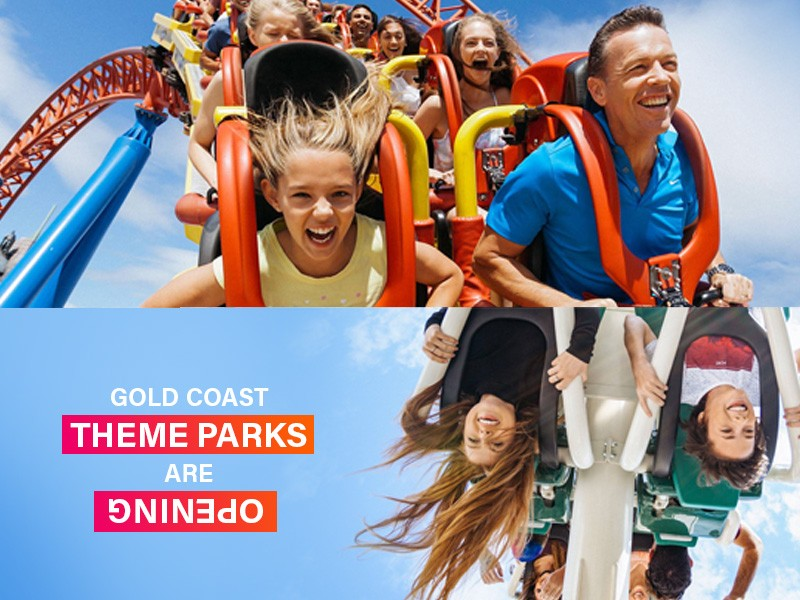 When are the Gold Coast Theme Parks Opening | Discover Queensland