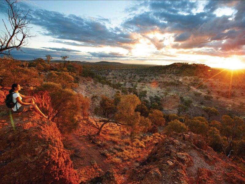 Baldy Top Lookout, Quilpie Things To Do | Southern Queensland Country Brisbane Road Trip | Discover Queensland