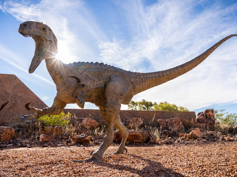 Australian Age of Dinosaurs Museum | Iconic Outback Queensland Road Trip to Longreach, Winton & Carnarvon Gorge | Discover Queensland