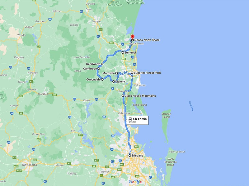 Sunshine Coast Hinterland Highlights Brisbane Road Trip Itinerary | Discover Queensland