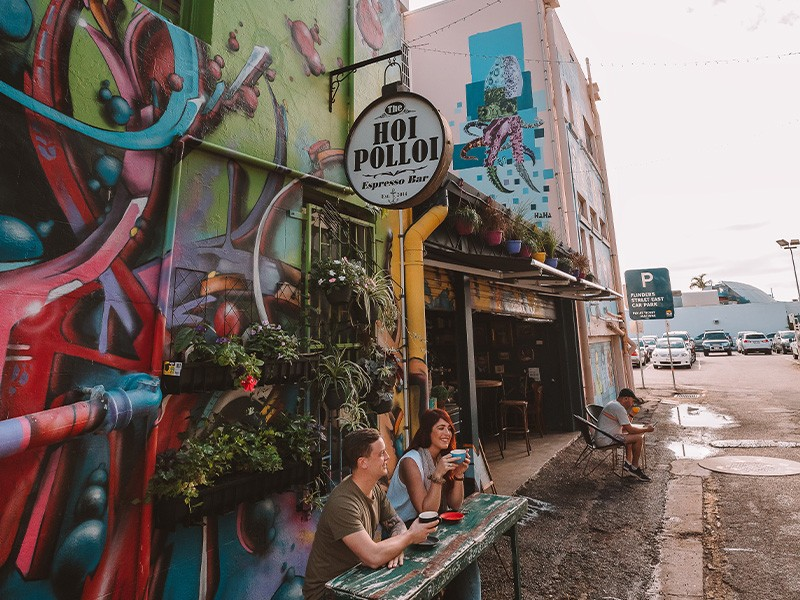 Hoi Polloi Cafe | Unique Things To Do In Townsville | Discover Queensland