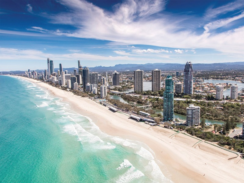 Gold Coast Skyline | Best Gold Coast Family holidays | Paradise Resort: Heaven for Kids Paradise for Parents | Discover Queensland