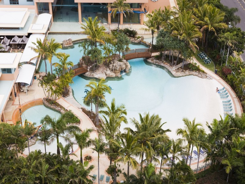 Mantra Crown Towers Lagoon Pool | Dive Into the Gold Coast's Best Resort Pools | Discover Queensland
