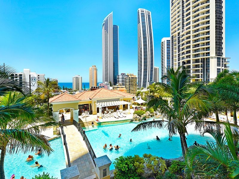 Mantra Towers of Chevron Beaches In the Sky | Dive Into the Gold Coast's Best Resort Pools | Discover Queensland
