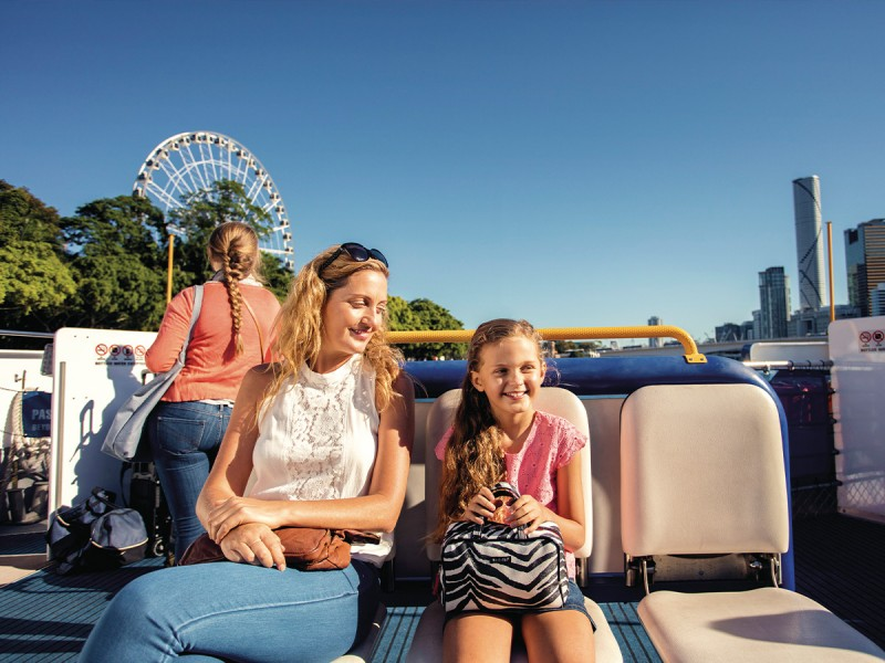 CityCat - Kids travel FREE on weekends  | Things to do in Brisbane with Kids: Your Tech-Free Brisbane Itinerary | Discover Queensland
