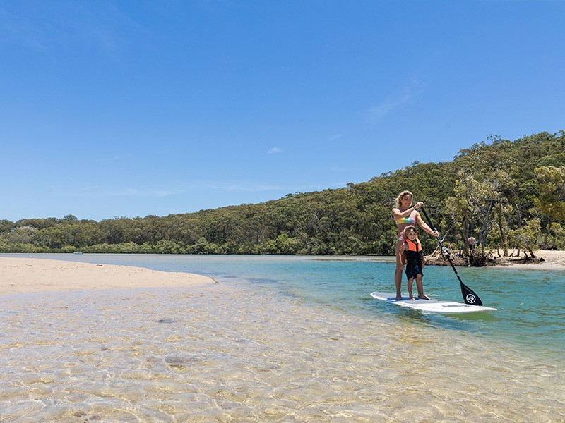 SUPing in Paradise | The Boatshed at Currumbin Creek | Top 30 Things To Do on the Gold Coast | Discover Queensland