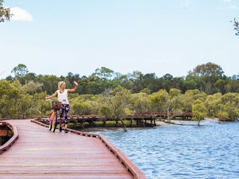 Walk On Water | Beree Badalla Overwater Boardwalk | Top 30 Things To Do on the Gold Coast | Discover Queensland