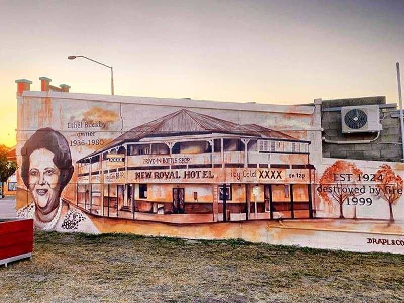 Royal Hotel in Monto | Things to do in Monto: The Silo Art Trail | Discover Queensland