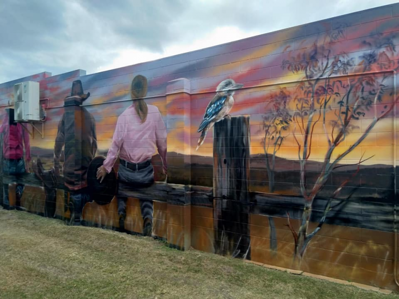 Newton Street Art | Things to do in Monto: The Silo Art Trail | Discover Queensland