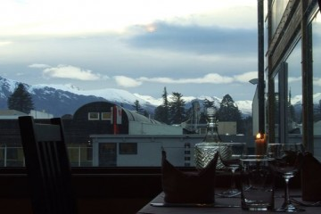 Roaring Megs Restaurant dining view - Queenstown Holidays