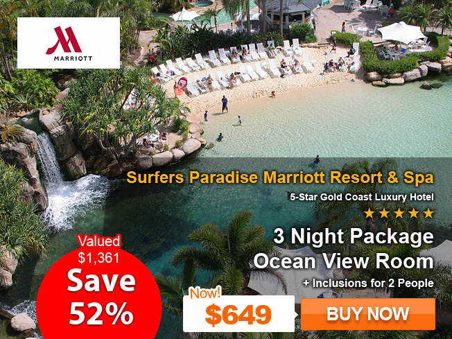 Marriott Surfers Paradise Resort & Spa on Sale Now! Save 52