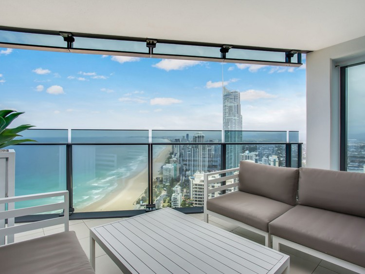 2 Bedroom Ocean Apartment views