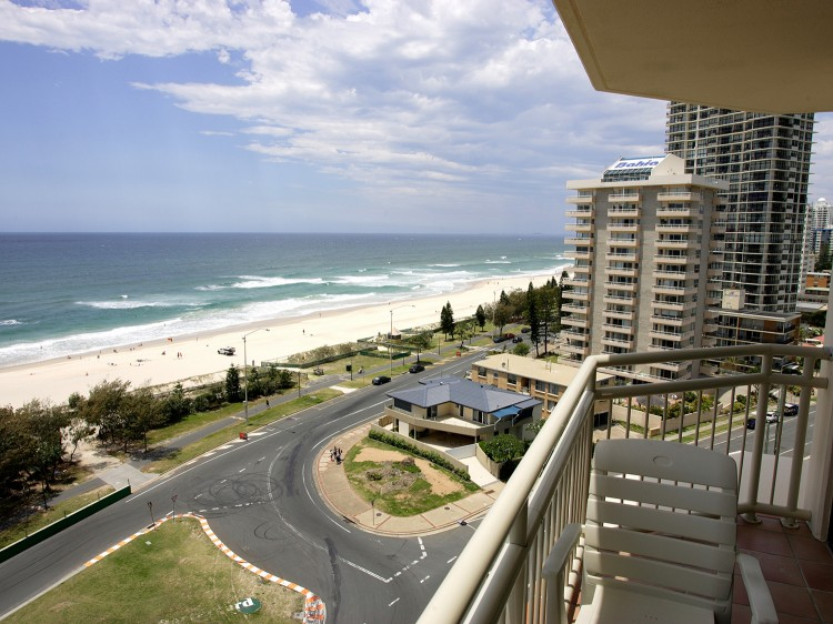 Balcony Views looking towards Surfers Paradise