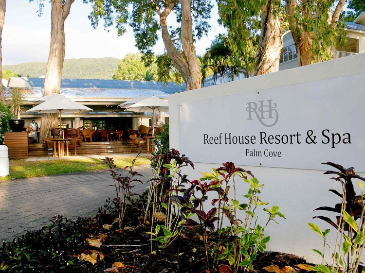 The Reef House Entrance