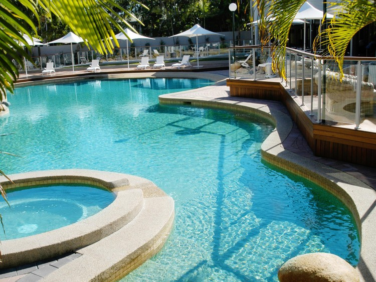 Resort Pool and Spa