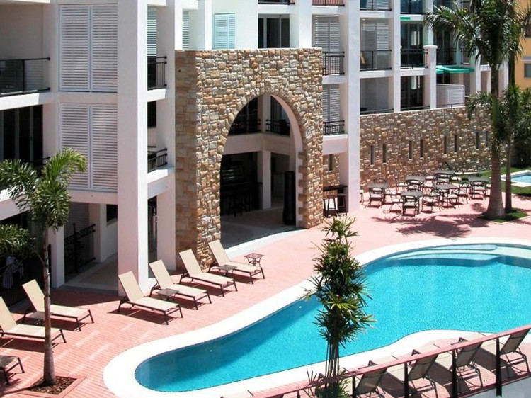 Swimming Pool and Sundeck area