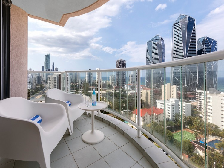 Oaks Gold Coast Hotel | One Bedroom Ocean View Balcony