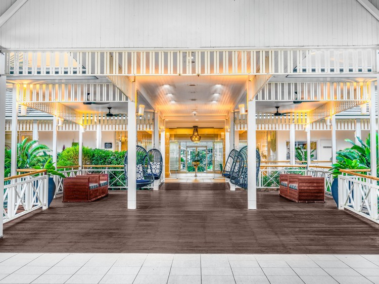 Hotel Entrance by