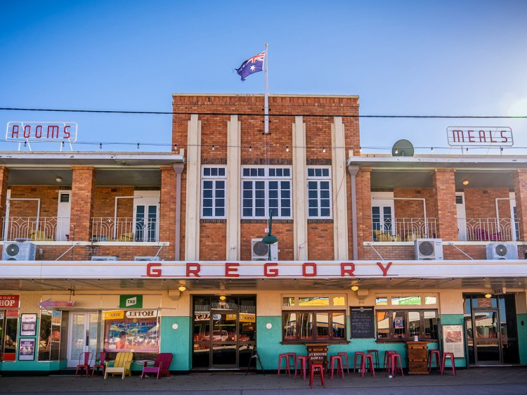 The Gregory Hotel | Outback QLD - Escorted Tour DQ