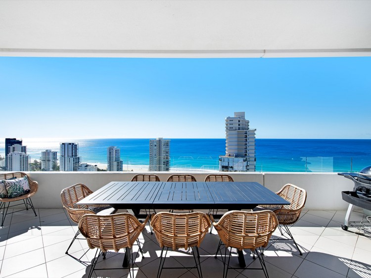 Balcony Ocean Views