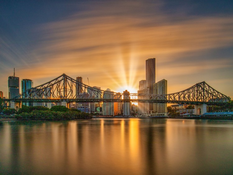 Story Bridge at Sunset | Brisbane Cultural 2 Day Experience