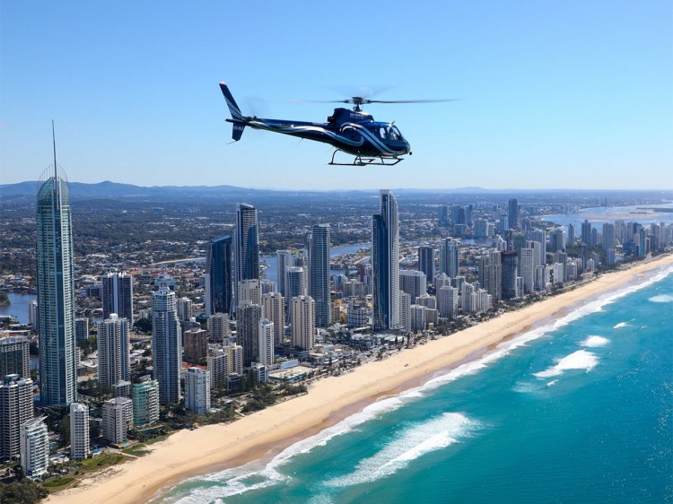 Helicopter | Gold Coast Long Weekend Stay & Helicopter | Discover Queensland