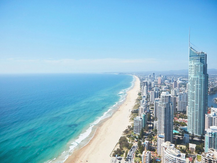 City from above | Gold Coast Long Weekend Stay & Helicopter | Discover Queensland