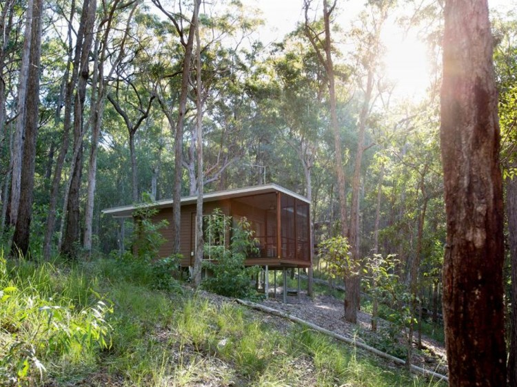 Treetop Self-Contained Cabin   Mt Cotton Retreat