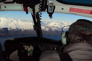Southern Lakes Heliski Helicopter View - Queenstown Holidays