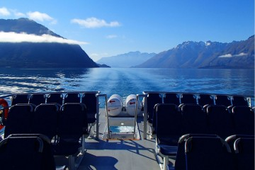 Spirit of Queenstown Scenic Cruise Back of the Boat - Queenstown Holidays