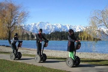 Segway On Q Tour against the Remarkables - Queenstown Holidays