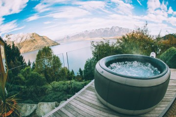 Spa Hire Queenstown - Spa Overlooking The Remarkables - Queenstown Holidays