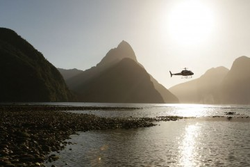 Middle Earth Heli-Flights over Milford Sound - Queenstown Holidays